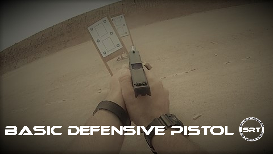 Basic Defensive Pistol FB Event